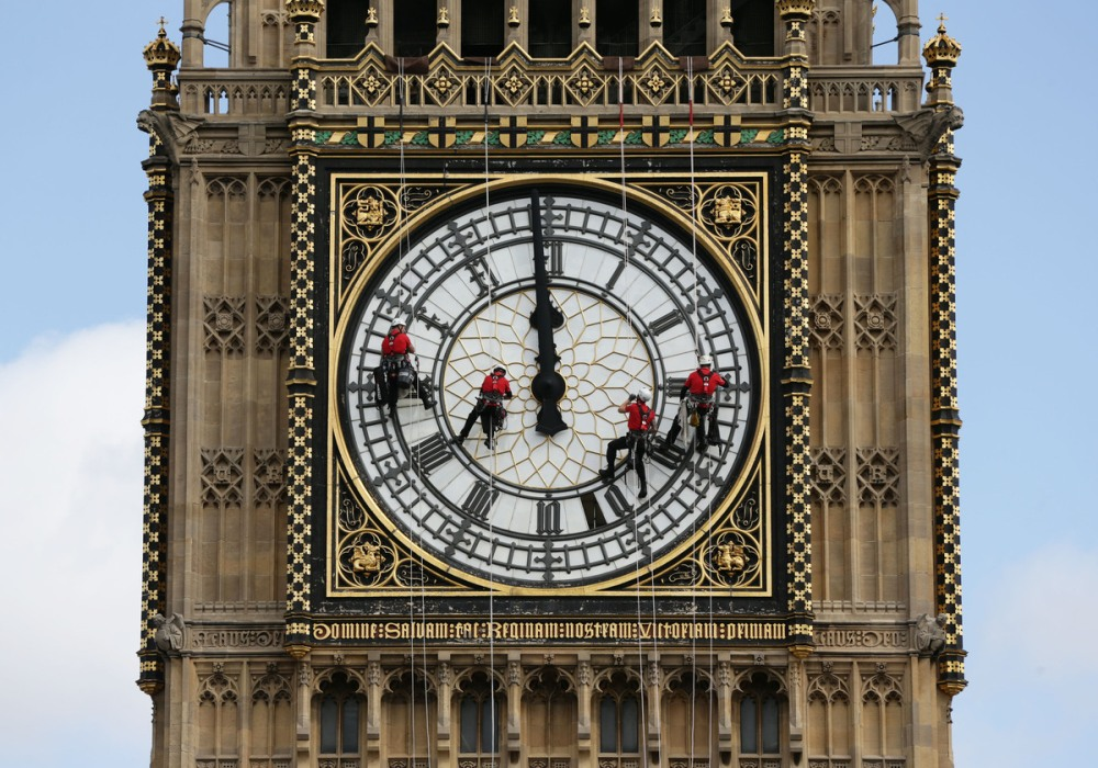 Tower Clock Cleaning